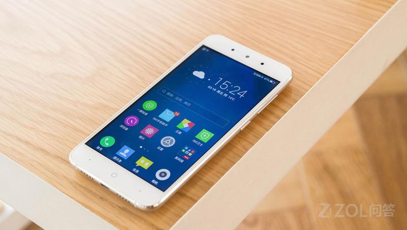 【购自京东】360手机 f4 全网通 2gb 16gb 魔力白 移动联通电信4g手机