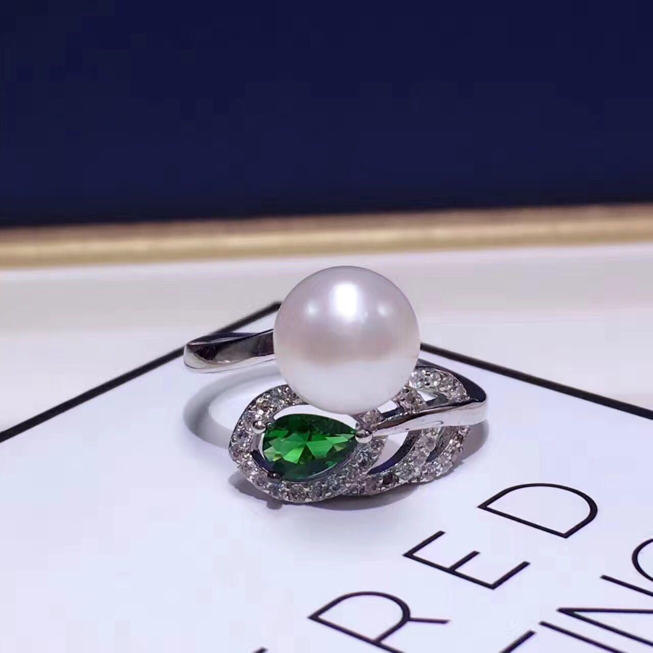 天然珍珠戒指