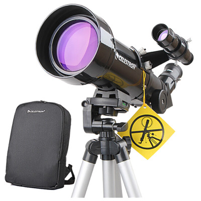 星特朗天文望远镜 POWERSEEKER 70400 短焦距大物镜 观星 观月 观景 观鸟天文望远镜 大单筒观测望远镜