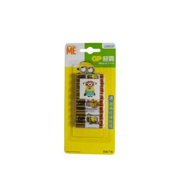 超霸GP通用7号七号8粒碱性碱性耐用干电池儿童玩具体重秤批发遥控器鼠标电池