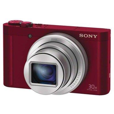 索尼(SONY)DSC-WX500 数码相机/照相机 红色-16G原装卡 3英寸显示屏 CMOS传感器 1820万像素
