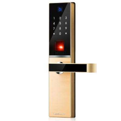 德施曼(DESSMANN)S8小嘀指纹锁电子门锁密码锁德国工艺触摸大屏APP指纹密码钥匙开门ios;Android星夜金