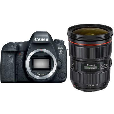 佳能(Canon) EOS 6D2(24-70mm F2.8) 数码单反相机 单镜头套装 约2620万像素