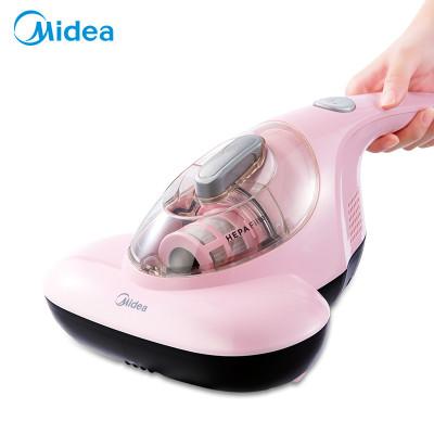 美的(Midea)除螨仪 B1 紫外线 除螨仪 粉色手持有线300w 床上 家用 吸尘器 大吸力 高频拍打 低噪热风除湿
