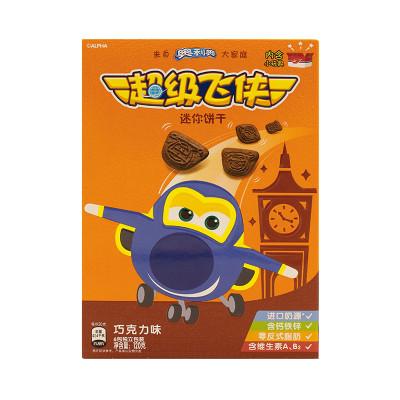 超级飞侠迷你饼干巧克力味120g