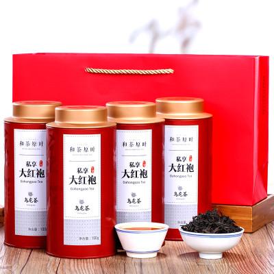 苏宁超市自营和茶原叶 茶叶 乌龙茶 大红袍 武夷山岩茶 礼盒装 400g