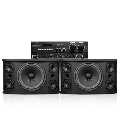 Yacare/雅桥 KT4580 家庭ktv音响套装设备家用舞台卡拉ok音响套装