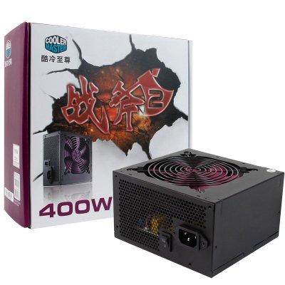 酷冷至 尊(CoolerMaster)战斧二代400W额定400W电源(静音/主动式PFC/支持背线/质保3年)