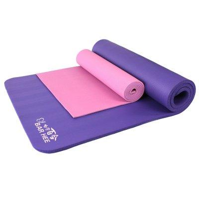 加厚15mm/20mm/30mm加宽80cm大号瑜伽垫平板支撑多功能运动垫体操垫午睡垫邮