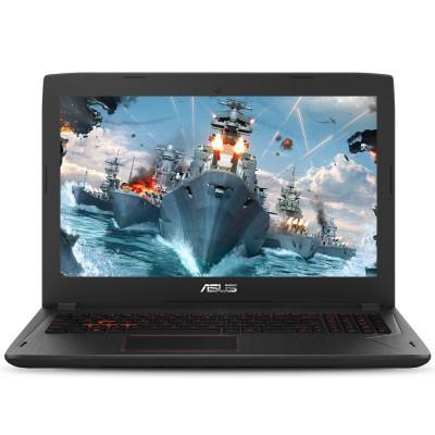 华硕(ASUS)飞行堡垒6代 FX86FE8300 15.6英寸笔记本电脑吃鸡发烧游戏本 标压四核i5-8300H 8GB 1TB+256GB GTX1050Ti-4G独显 经典黑
