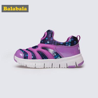 超级新品 巴拉巴拉毛毛虫鞋女童鞋儿童运动鞋2019新款春秋小童鞋子百搭潮鞋