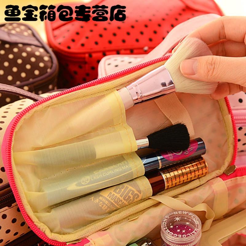 makeup cosmetic bag travel case toiletry beauty organizer zipper