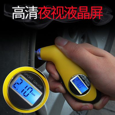 轮胎气压表汽车胎压监测器通用胎压计胎压表高精度检测仪气压计