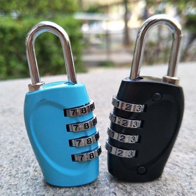 旅行箱密码锁行李箱包锁健身房柜子拉杆箱小挂锁迷你 四位密码