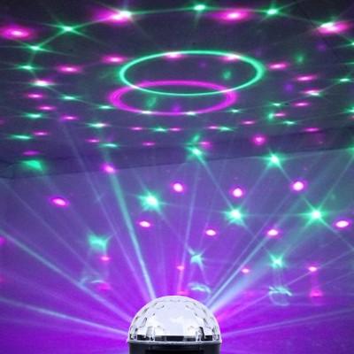星星小彩灯闪灯串灯满天星七彩变色氛围灯家用卧室房间装饰网红灯 插电款声控版(1.5米电源线)