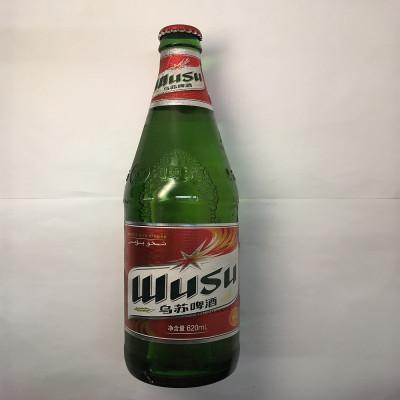 【官方专卖店】乌苏啤酒 WUSU红乌苏啤酒620mlx6瓶装 箱装新疆啤酒夺命大乌苏新疆特产网红啤酒 WUSU
